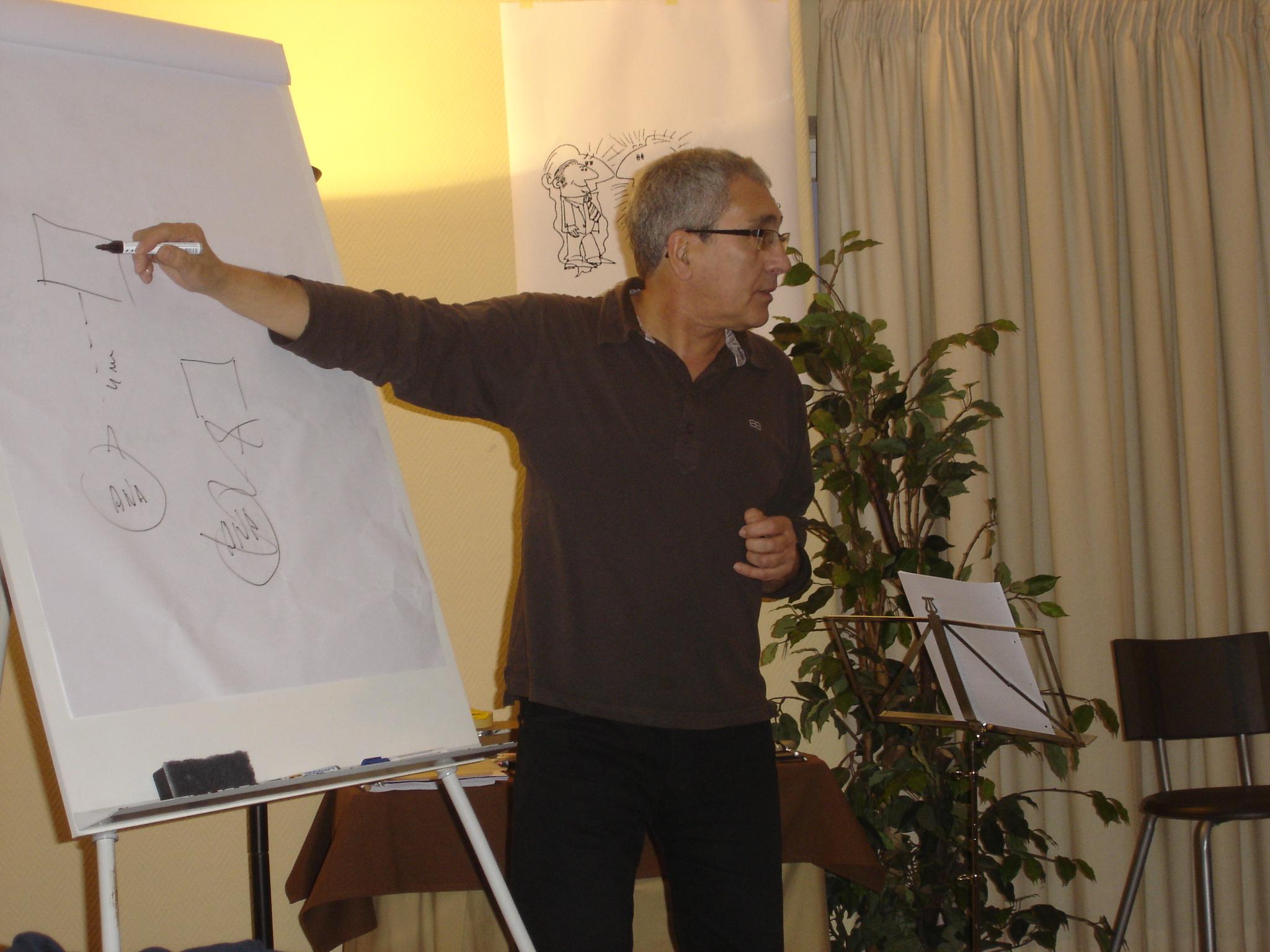 Cursos de PNL-Portugal. Trainer José Figueira